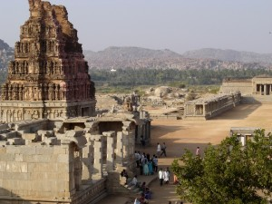 Bazaar complex near Vitthala Temple, Hampi-picture by Anand Katti