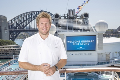 Curtis Stone onboard Diamond Princess - email