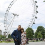 David Reyne and Kathy Lette in London (3)