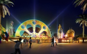 Motiongate themepark - part of Dubai Parks and Resorts - opening in late 2016