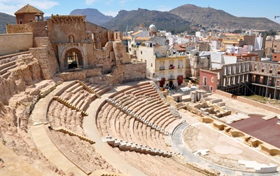 Spain restored Roman openair theatre Cartagena.Helen Read photo.rsz