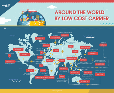 Wego Around the world by low-cost carrier Sept 15
