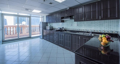 2BR Kitchen at Emirates Grand Hotel Apartments