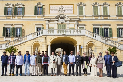 Ajman governement delegation visits the city of Parma in Milan 1