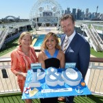 Carnival Australia CEO Ann Sherry, Jessica Mauboy and P&O Cruises Senior Vice President Sture Myrmell - email