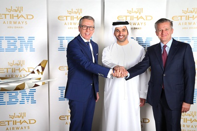 Etihad Airways - IBM Agreement Photo