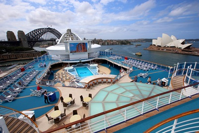 Golden Princess maiden Sydney visit October 18 2015 - email