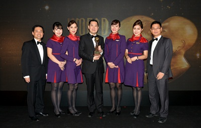 "Hong Kong Airlines Garners ""Asia's Leading Inflight Service 2015""_3"