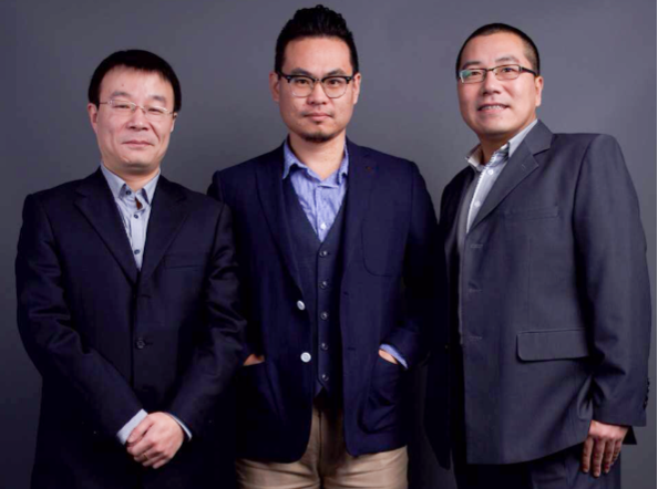 Info Site founders (L to R) Fang Fang, Luke Lee, Bob Qin_media