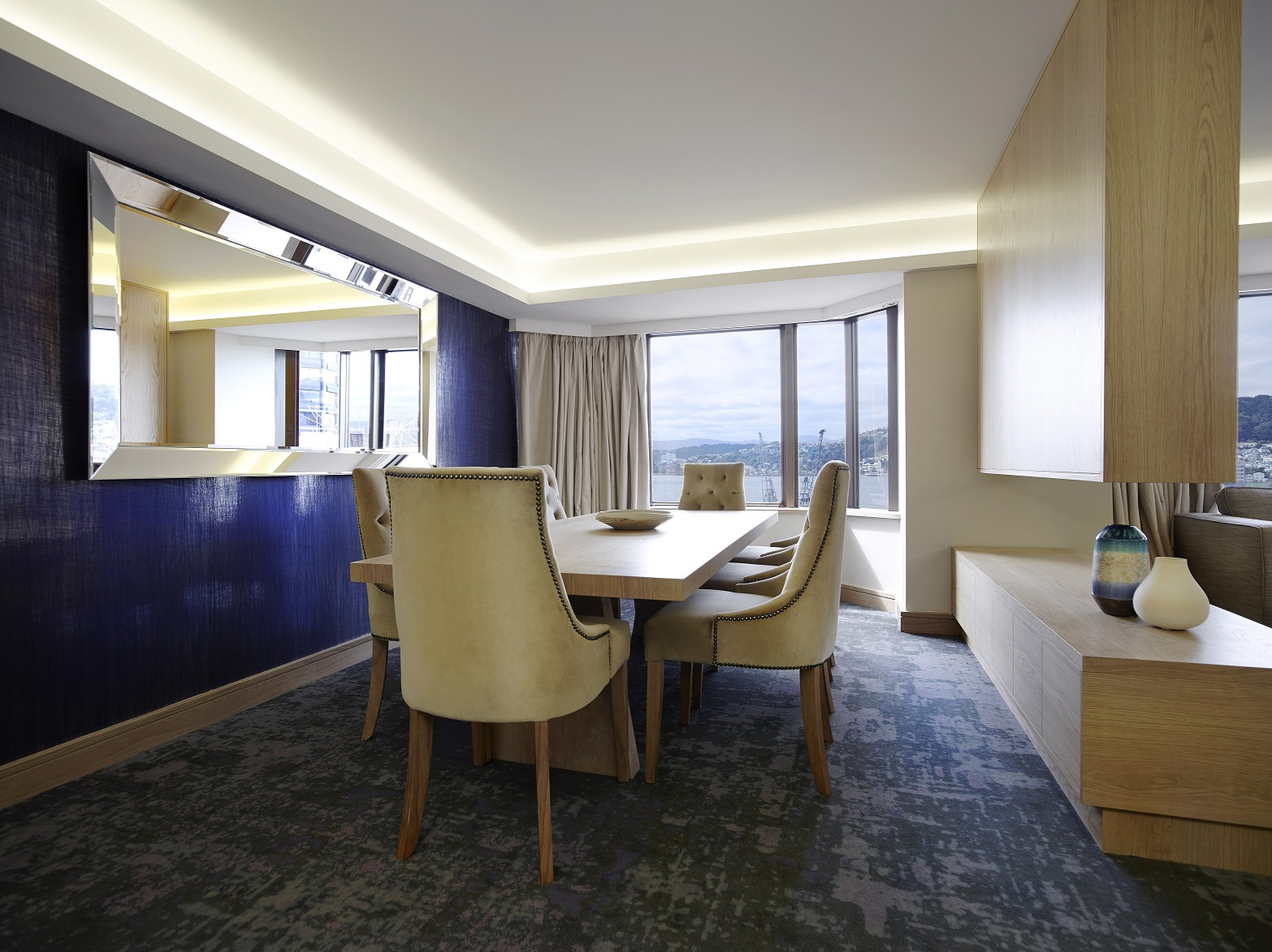 InterContinental Wellington Presidential Suite Dining Area