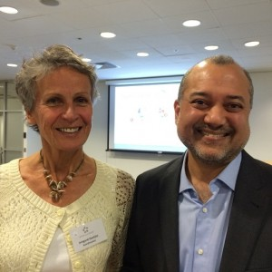 Irmgard Goetjes-Pederson (SAS) and Anil Rodricks (Lufthansa Group)_2015 Star Alliance Conference