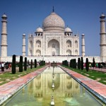 The Taj Mahal, one of India's top tourist destinations, sees some 3 million visitors a year