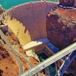 The World's Tallest Concrete Arch Bridge Towers Over The Hoover Dam