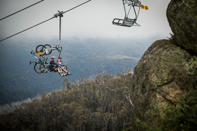 Thredbo Cannonball chairlift