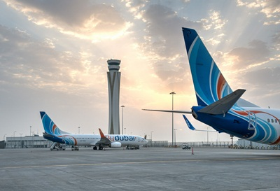 flydubai at DWC file photo