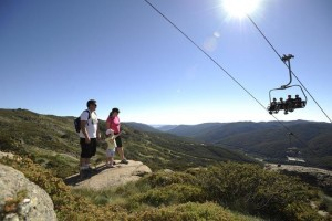 Summer activities at Thredbo 2009/2010. Photo by Steve Cuff