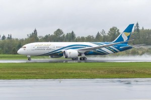 Oman Air OMR 1st 787 Delivery