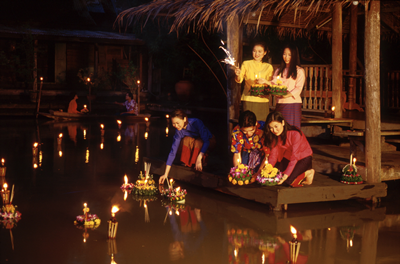1 - Loy Krathong under the stars at Elements Restaurant