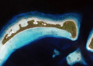Aerial of Panaboal Island_Conflict Islands PNG