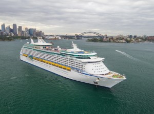 Explorer of the Seas on Sydney Harbour