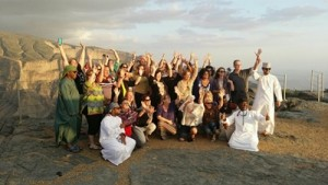 Group Shot Shiv Sood of Oman World Tourism NOV15