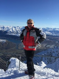 John Porter RPL Director on Remarkables Top Ridge