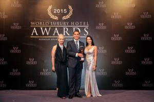 Michel Chertouh, General Manager of InterContinental Bali Resort Received World Luxury Hotel Awards 2015