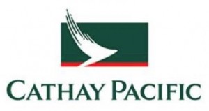 OUT. Cathay Pacific's old logo