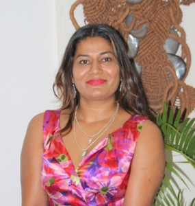 Patricia Mallam, first Fijian accepted into the International Association of Business Communicators.