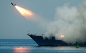 Russia's Caspian Sea fleet launches cruise missiles at terror bases in Syria