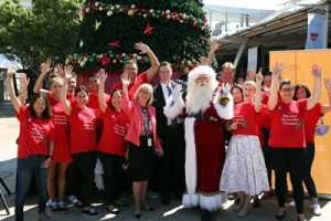 Sydney Airport - Community Christmas Giving Appeal launch