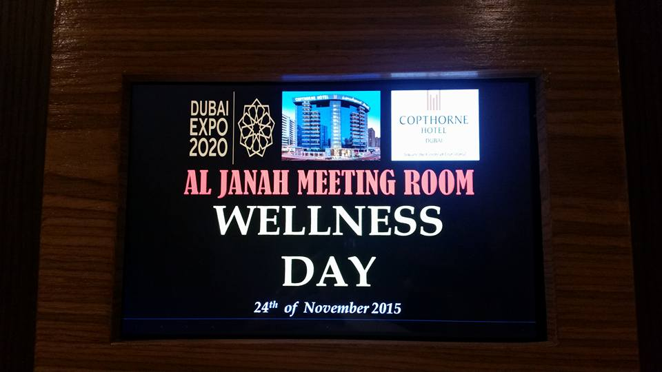 Wellness Day at Copthorne Hotel 05
