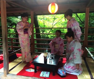 TravelManagers' Jennifer Jones and Sheri relished the opportunity to soak up traditional Japanese cultural experiences during their week-long famil