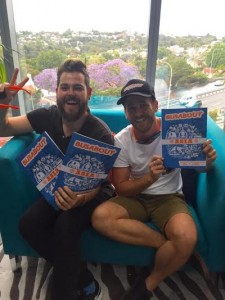 Busabout Sales Managers - Greg Lawson and Shane Flanagan