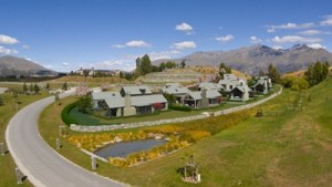 An artists impression of Mica Ridge houses at Millbook Resort, Queenstown