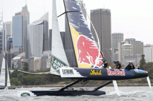 Extreme Sailing Series 2015 Sydney Red Bull Sailing Team of Austria 2