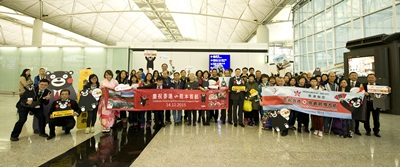 Hong Kong Airlines Celebrates Inaugural Flight to Kumamoto_1
