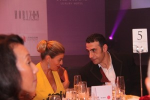 Khalil El-Mouelhy, Chairman president-founder Seven Stars Luxury Hospitality and lifestyle awards, Ms Ece Vahapoglu