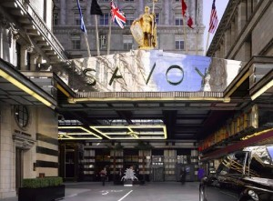 London landmark - the Savoy