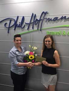 Megan Hermann, PHT, winner of the Wendy Wu Tours Maldives booking incentive.