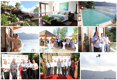Opening of new Grand Pool Villas Hilton Northholme