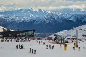 The Remarkables new base building proved a hit with skiers and snowboarders