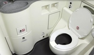 Airline toilet