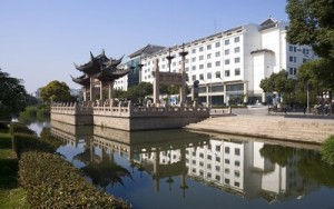 China's first Wyndham Garden hotel, pictured above, opened in Suzhou, increasing Wyndham Hotel Group's presence in China