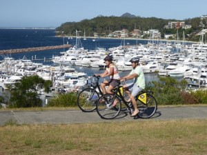 Bike hire in Port Stephens