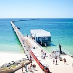 Extending 1.8km over stunning Geographe Bay, the heritage listed Busselton Jetty is the longest timber -piled jetty in the Southern Hemisphere.