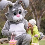 A cuddle from the Easter Bunny in Thredbo LR