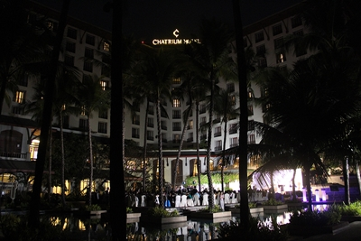 CHATRIUM HOTEL ROYAL LAKE YANGON SUPPORTS EARTH HOUR 2016 (2)