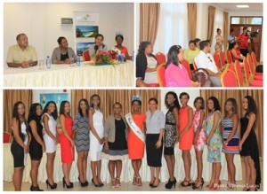 MISS SEYCHELLES PRESS CONFERENCE