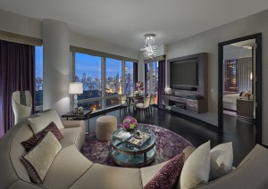 MONYC Premier CP View Suite Living Room 2015 - New York Nights Theme
